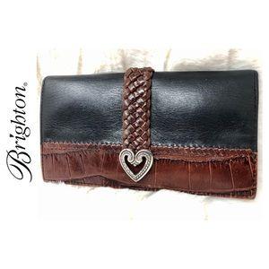 Brighton Signature Leather Wallet